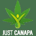 Logo JustCanapa bianco