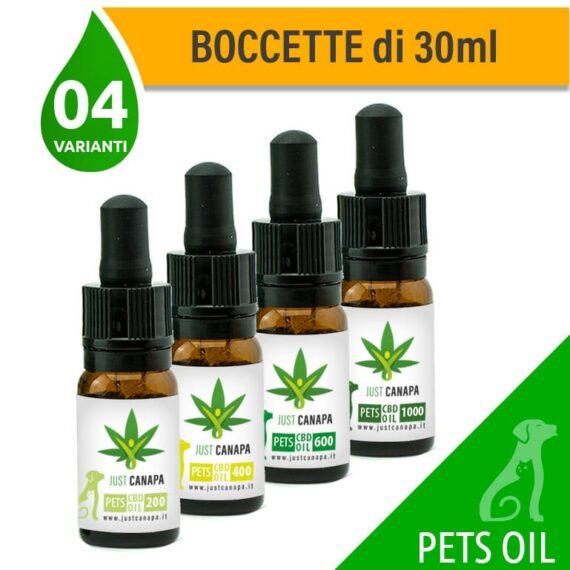 olio CBD pets per animali