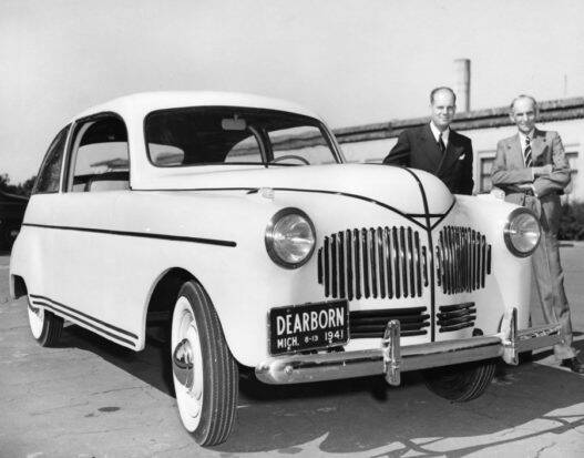 L'auto Cannabis di Henry Ford è stata realizzata in canapa