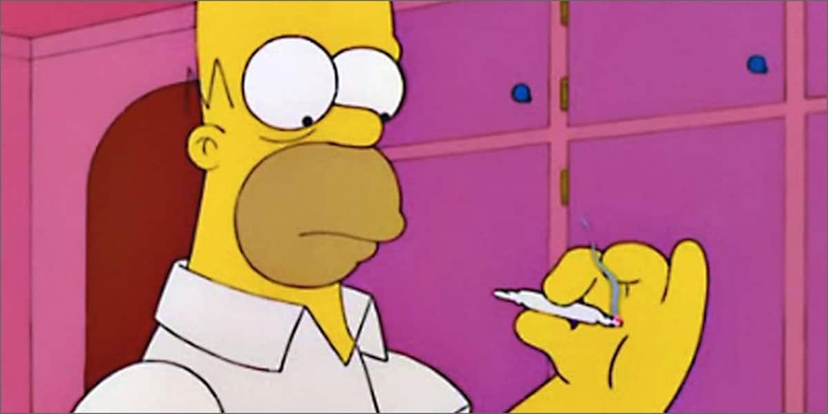 simpson e la marijuana